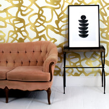 Load image into Gallery viewer, Pompeii Gold Wallcovering