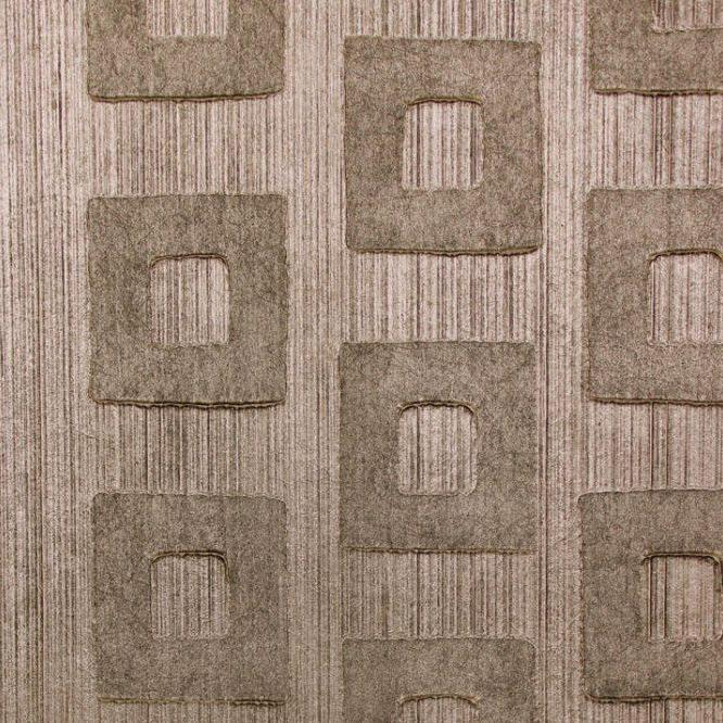 Quadra Bronze Wallcovering