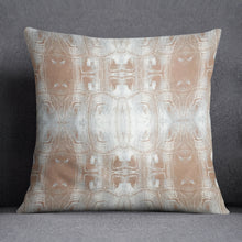 Load image into Gallery viewer, Tortoise Shell Terracotta Grey Pillow