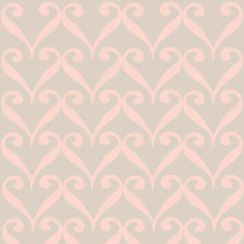 Load image into Gallery viewer, SARAH Taupe & Blush Wallcovering