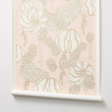 Load image into Gallery viewer, Succulent - Pink Wallcovering