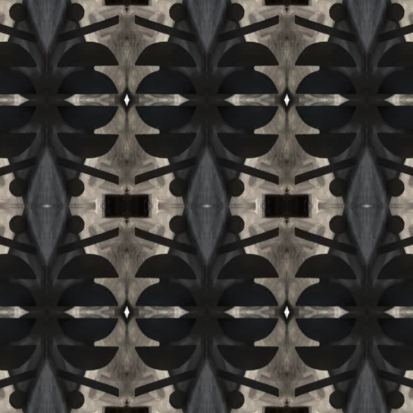 10418 Washed Black Grasscloth Wallcovering