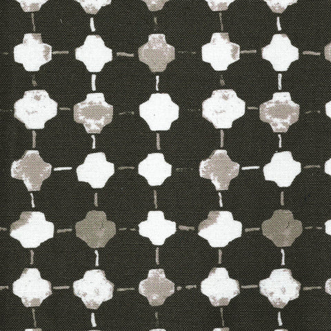 Lafayette Square Charcoal Fabric