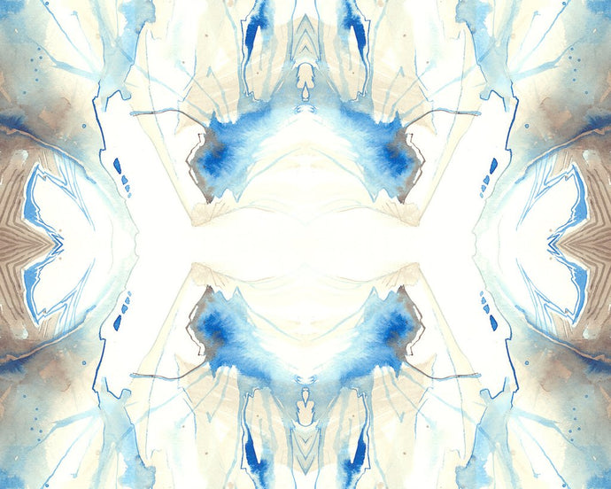 Splashed Kaleidoscope Wallcovering