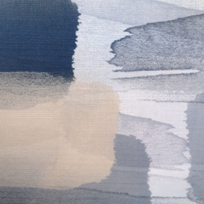 River Summer Blue Fabric