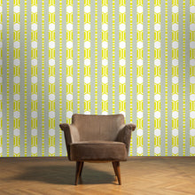 Load image into Gallery viewer, CHARLIE Saffron & Light Sage Wallcovering