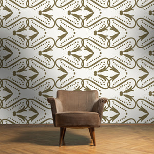 KIKI Charcoal Wallcovering