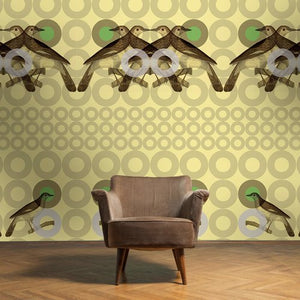 SCOUT Cream Puff Wallcovering