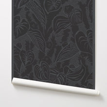 Load image into Gallery viewer, Tangle - Grey Wallcovering