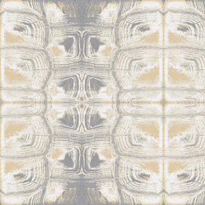 Tortoise Shell Wheat Grey White Wallcovering