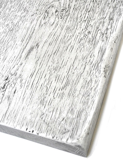 Wood | Urban White on Heavily Distressed Oak