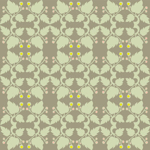 WHITWORTH Mint & Truffle Wallcovering