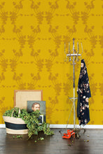 Load image into Gallery viewer, Frida Gold Wallcovering
