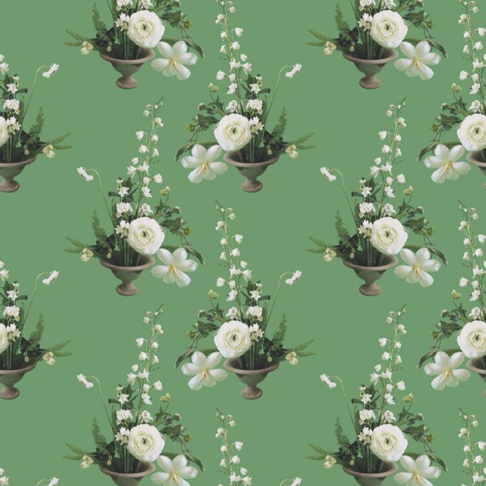 Freedom Green Wallcovering