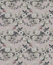 Load image into Gallery viewer, Into the Garden Blush Grasscloth Wallcovering