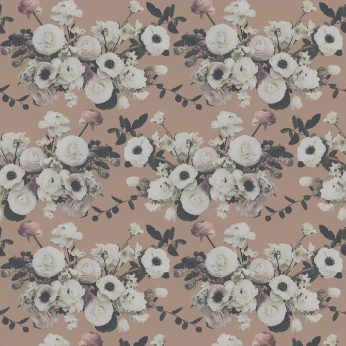Into The Garden Peach Wallcovering
