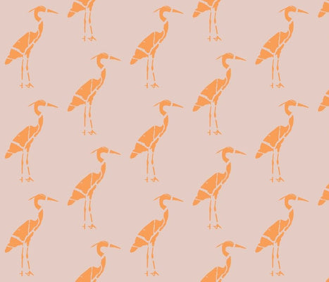 Heron Marbled Mill Pink Hermes Wallcovering