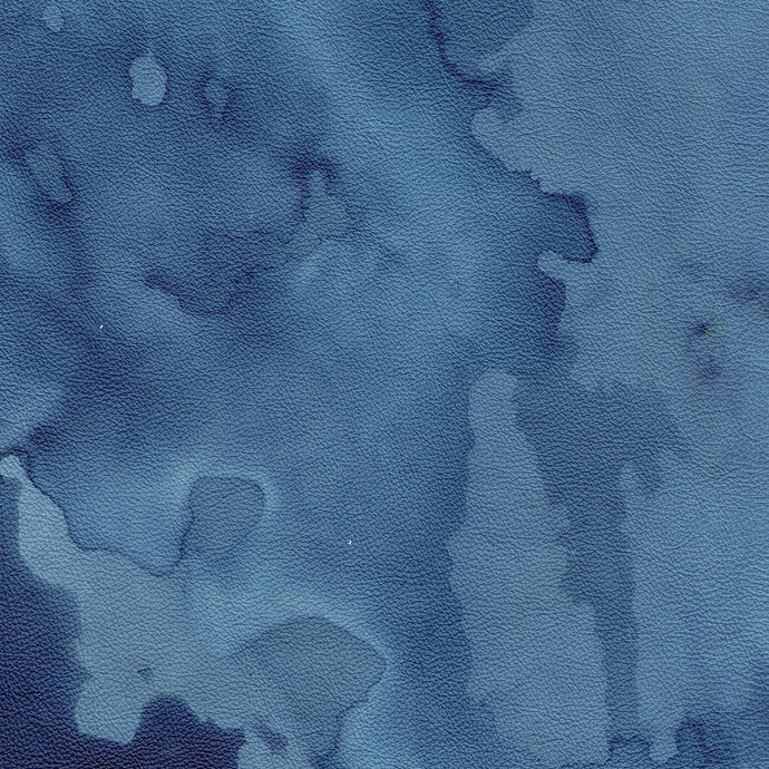 Watercolour Indigo Leather