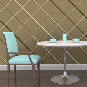 PATTY Saffron, Peony & Earth Wallcovering