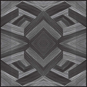 ZAK Black Wallcovering