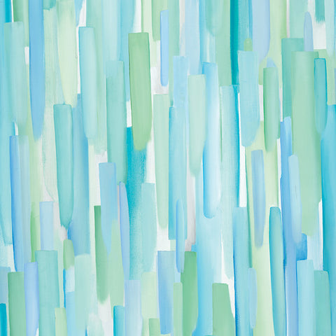 Sea Salt Blue Wallcovering