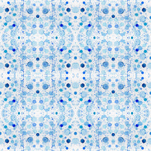 Load image into Gallery viewer, Splatter Coastal Blue Wallcovering