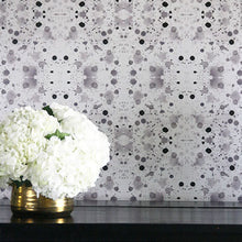 Load image into Gallery viewer, Splatter Stone Grey Wallcovering