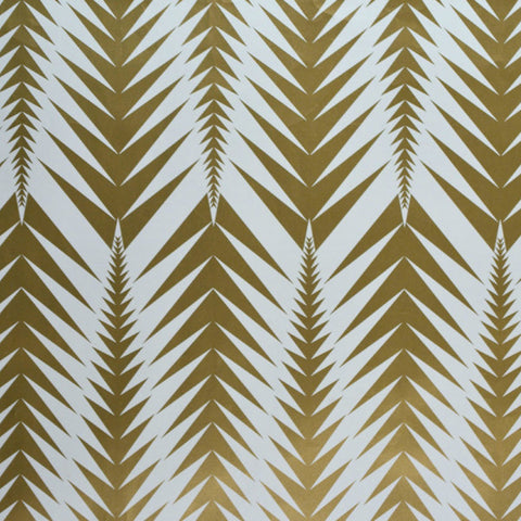 Loki Bastille Brass Wallcovering