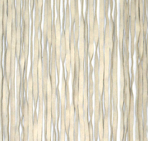 Anan Cream Leather Fringe