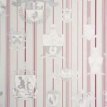Load image into Gallery viewer, Carpe Noctem Hot Pink Silver Wallpaper
