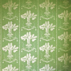 Lucky Charms Georgian Green Wallpaper