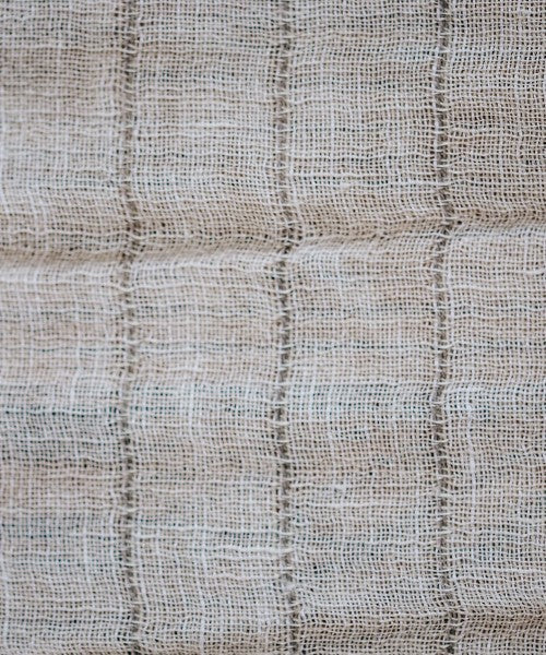 Big Sur Rigat Cream Fabric