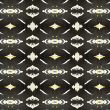 Load image into Gallery viewer, 125-4 Black Yellow Wallcovering