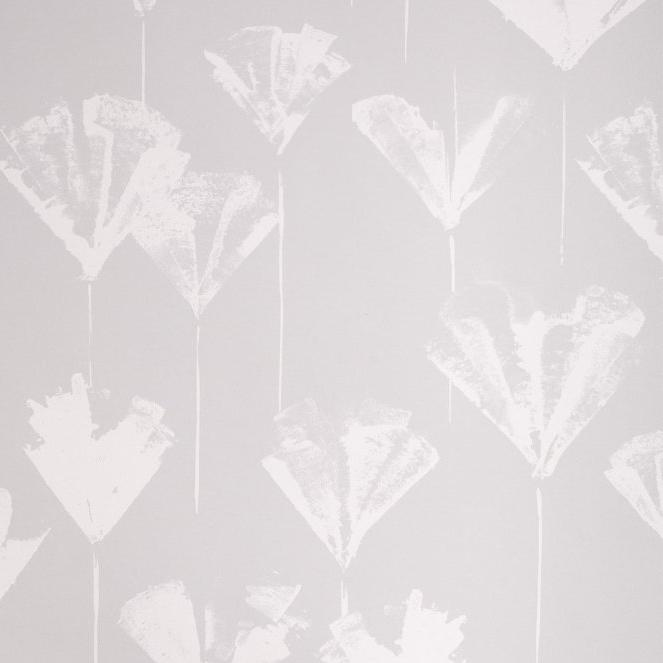 Botanica (Gray) Wallpaper