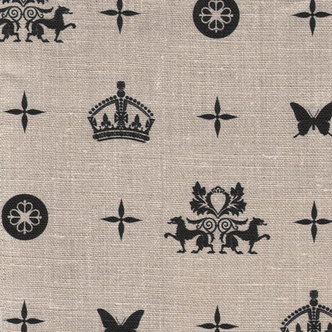 Crown Royale Charcoal Fabric