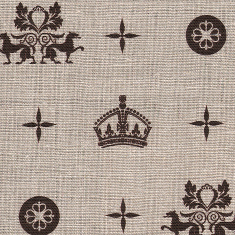 Crown Royale Chocolate Fabric