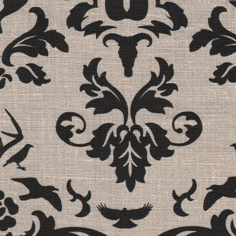 Hunt Club Charcoal Fabric