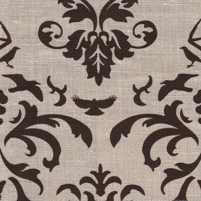Hunt Club Chocolate Fabric