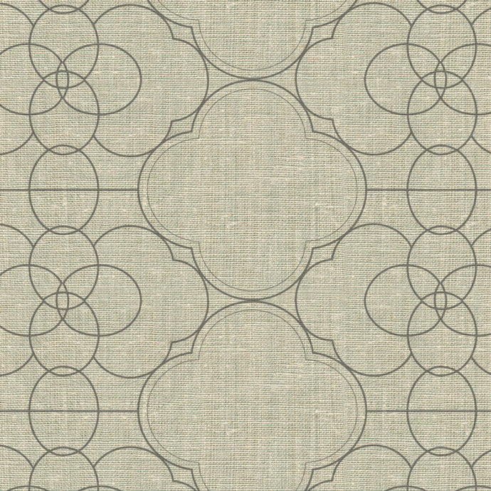 Paris Gates Stone Fabric