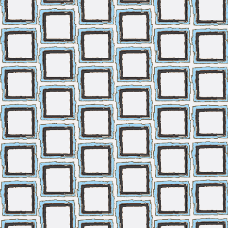 Bsquared Blue Noir Fabric