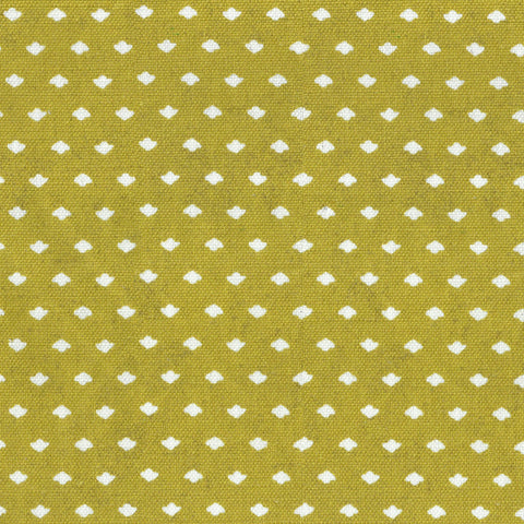 Calico Dot Golden Fabric