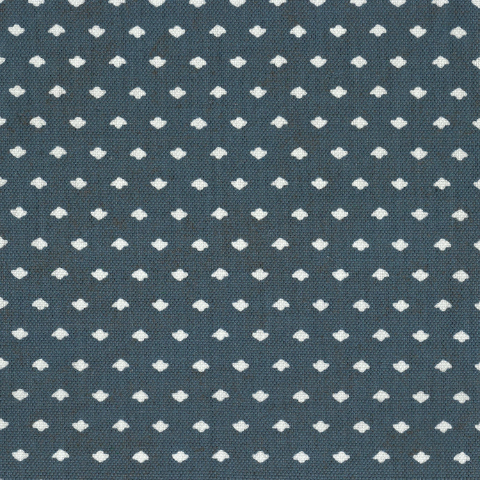 Calico Dot Navy Fabric
