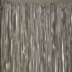 Juma Putty Leather Fringe Fabric