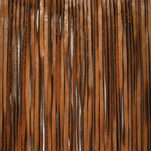 Load image into Gallery viewer, Nile Bourbon Leather Fringe