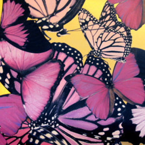 Butterflies Pink Type ll Wallcovering