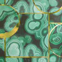 Load image into Gallery viewer, Glam Rock Malachite Type ll Wallcovering