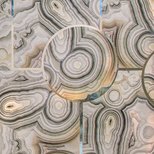 Glam Rock Natural Lace Agate Type ll Wallcovering