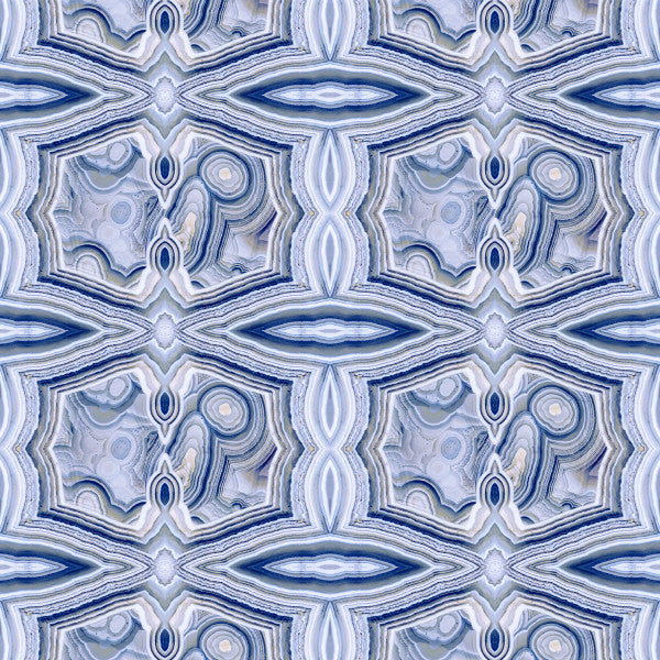Rock On Blue Lace Agate Type ll Wallcovering