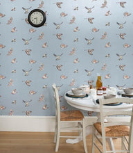 Load image into Gallery viewer, Early Bird JTEB02 Blue Wallcovering