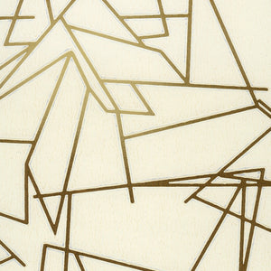 Angle Cream Gold Wallcovering